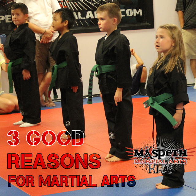 Maspeth Martial Arts for kids - 3 good reason for martial arts for kids