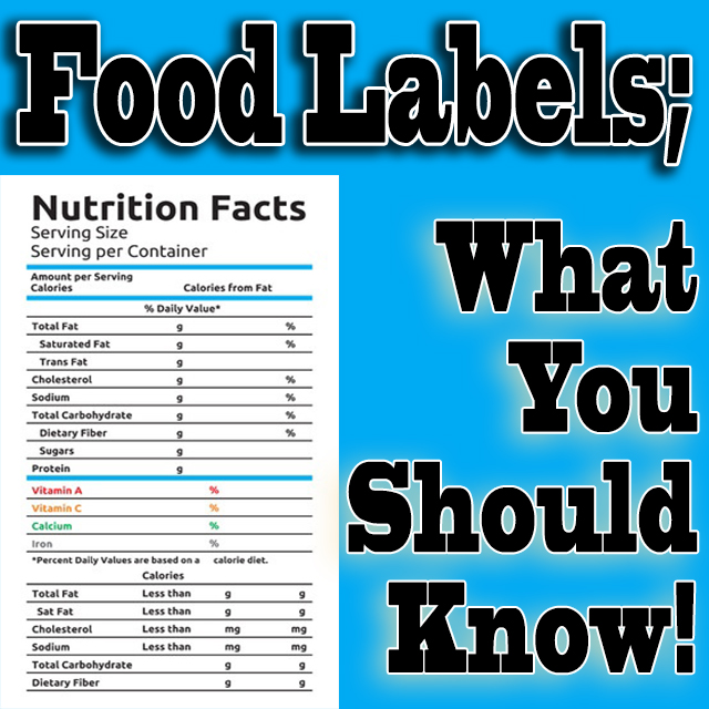 Food Labels – What You Should Know