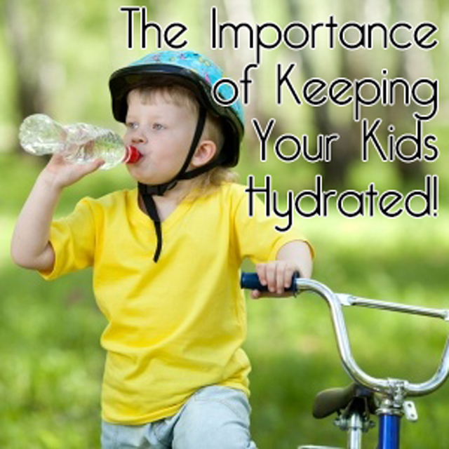 The importance of keeping kids hydrated