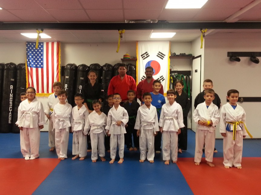 New Taekwondo Belts