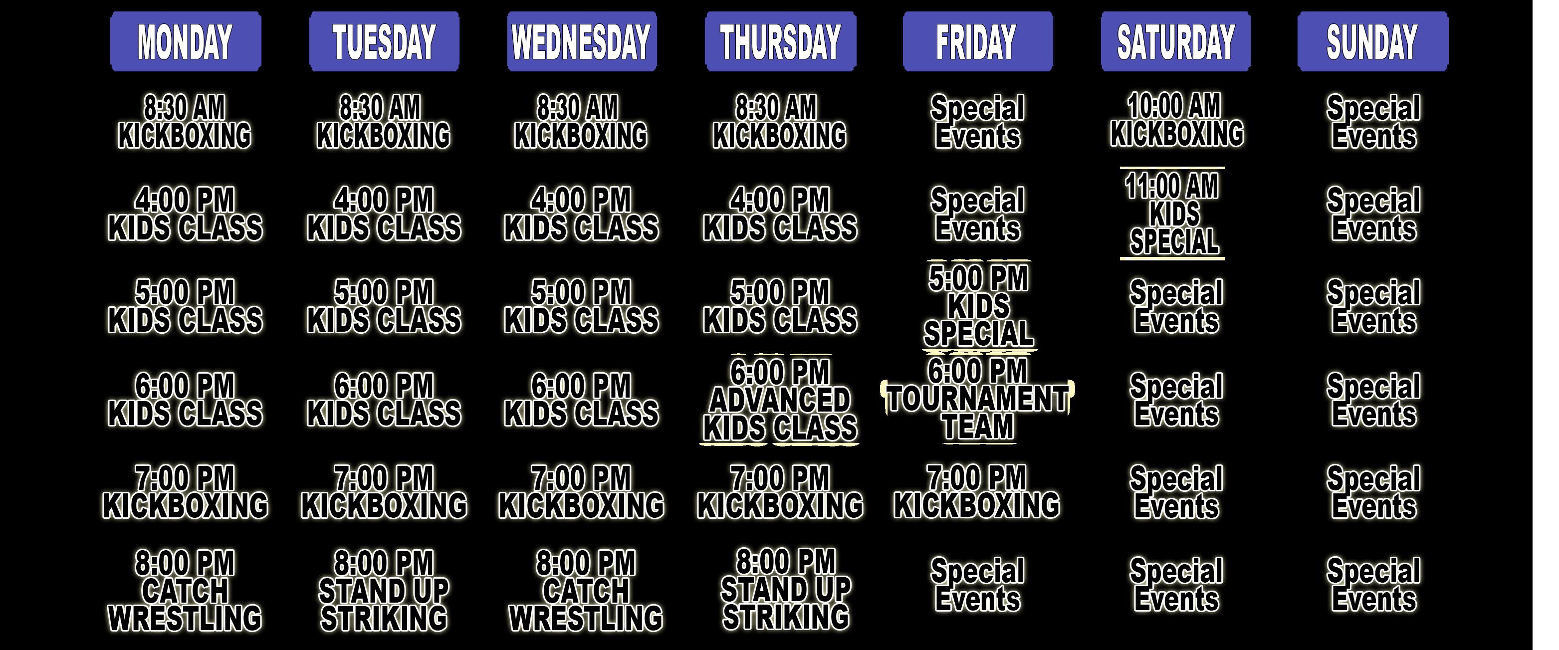 2015-maspeth-martial-arts-schedule